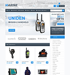 Marine Store - PrestaShop Theme #41626 by Ares