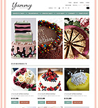 Yummy Cakes - PrestaShop Theme #41654 by Di