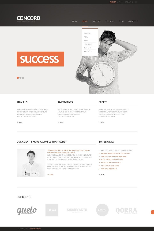 Finance WordPress Template
