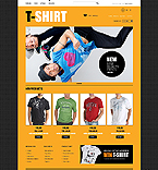 Psycho T-Shirts - PrestaShop Theme #41697 by Delta