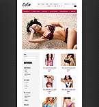 Lingerie Store - PrestaShop Theme #41698 by Di