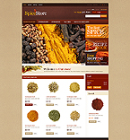 Exotic Spices - PrestaShop Theme #41699 by Hermes