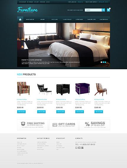 magento theme furniture store best ecommerce website template. Black Bedroom Furniture Sets. Home Design Ideas