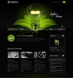 Stretched Flash CMS Theme #41778