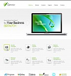Stretched Flash CMS Theme #41779