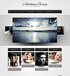 Stretched Flash CMS Theme #41780