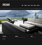 Stretched Flash CMS Theme #41783