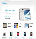 Mobile Phones - PrestaShop Theme #41797 by Ares