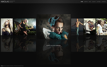 Lady beauty - Best Photographer WordPress Theme