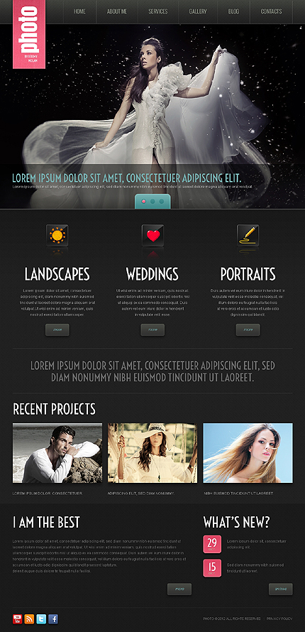 Photo - Best Photographer Portfolio WordPress Theme