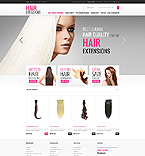 Luxury Hair - PrestaShop Theme #41905 by Hermes