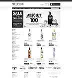 Alcoholic Beverages - PrestaShop Theme #41907 by Hermes