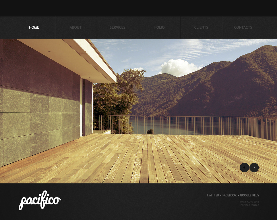 Real Estate Agency Website Template with a Home Page Gallery - image