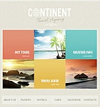 Facebook HTML CMS Template #41981
