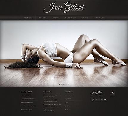 Website template 42011 (TM #42011) - Joomla Templates - special ...