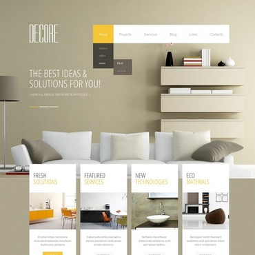 Interior Design Free Website Templates For Download About 6