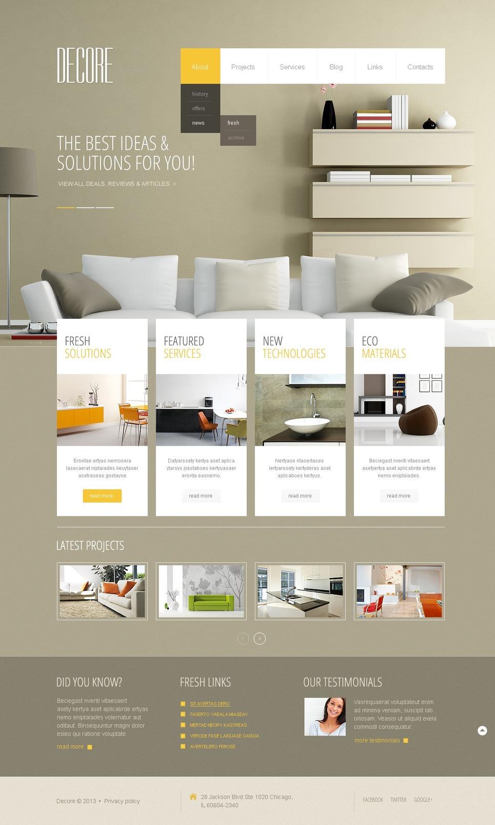 Интерьер и дизайн блоги