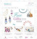 Children's Jewelry - PrestaShop Theme #42055 by Hermes