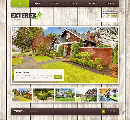 Exterex WordPress Theme