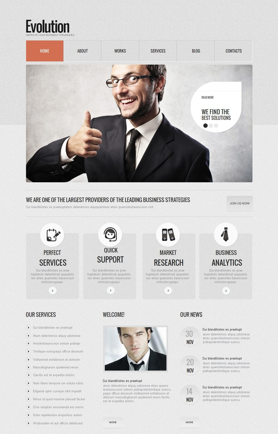 Business Web Template in Colors that Calm - image