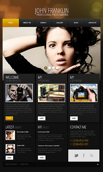 John Franklin - Best Photographer Portfolio WordPress Theme