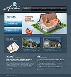 Stretched Flash CMS Theme #42326