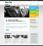 Stretched Flash CMS Theme #42333