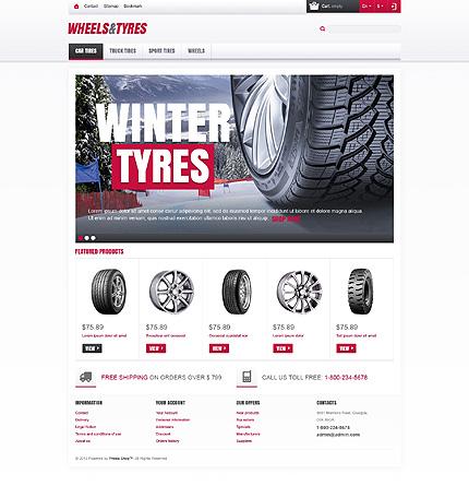 Wheels & Tyres Store - Responsive Prestashop Cars Bike Store Theme
