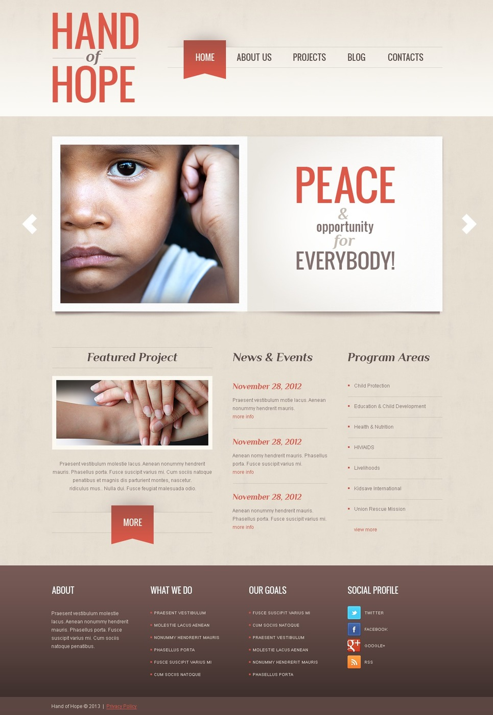 Empathy Charity WordPress Theme New Screenshots BIG
