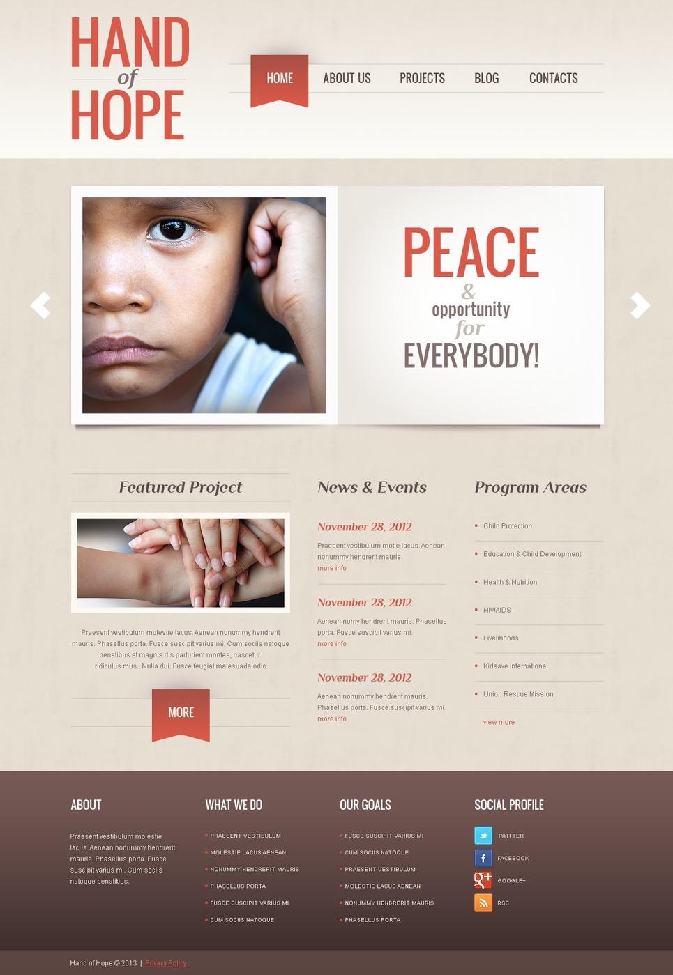 Empathy Charity WordPress Theme New Screenshots BIG