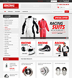 Racing Store - PrestaShop Theme #42503 by Hermes