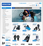 Diving Store - PrestaShop Theme #42505 by Hermes