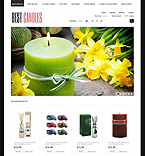 Holiday Candles - PrestaShop Theme #42506 by Di