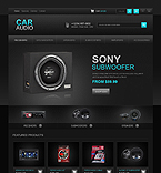Car Audio - PrestaShop Theme #42508 by Ares