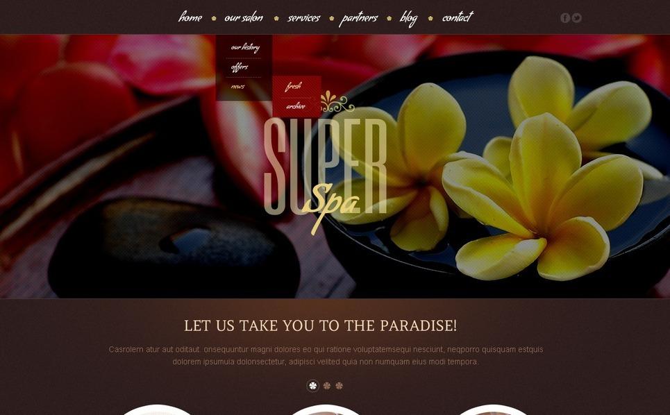Beauty Salon WordPress Theme New Screenshots BIG