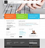 Stretched Flash CMS Theme #42568