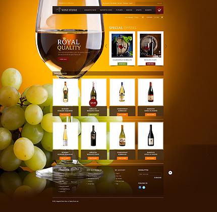 Royal quality - Excellent Magento Wine Shop Theme