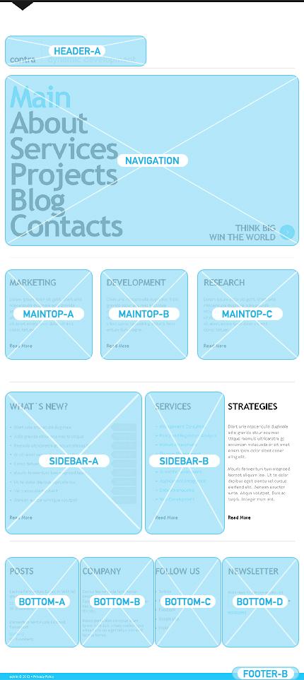 Minimalist Joomla Templates Minimalist IT Joomla Template - Web Design Templates, Website Templates, Download Minimalist IT ...