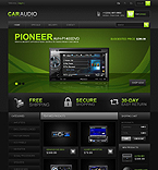 Car Audio - PrestaShop Theme #42666 by Ares