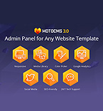 MotoCMS Admin Panel Integration  #42667