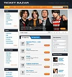 Stretched Flash CMS Theme #42668