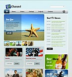 Stretched Flash CMS Theme #42670