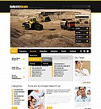 Stretched Flash CMS Theme #42787