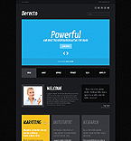 Website template #42796 by Cowboy