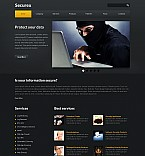 Stretched Flash CMS Theme #42911
