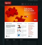 Stretched Flash CMS Theme #42912