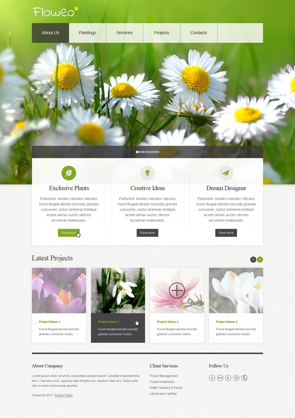 Exterior design website template 42918 for Exterior design website templates