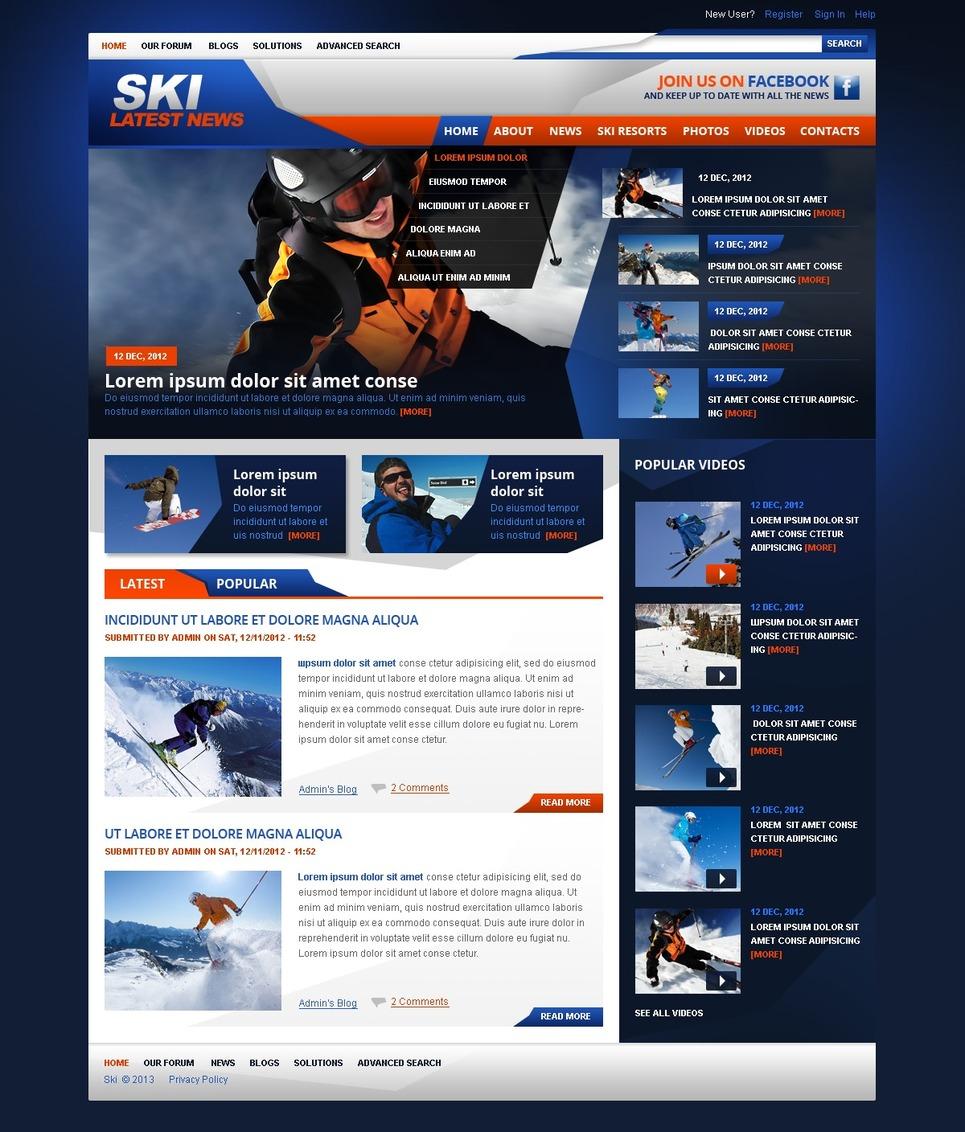 drupal website templates