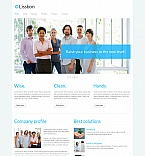Moto CMS HTML Template #42929 by Hugo