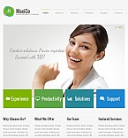 Facebook HTML CMS Template #42964